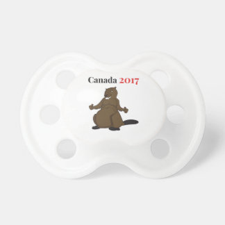 Canada 150 in 2017 Beaver Pacifier