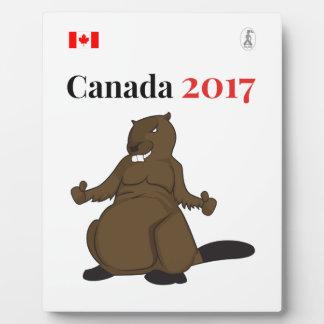 Canada 150 in 2017 Beaver Plaque
