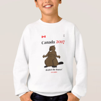 Canada 150 in 2017 Beaver Respect Sweatshirt
