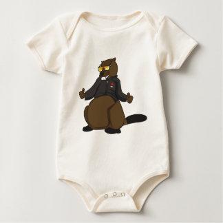 Canada 150 in 2017 Cool Beaver Merchandise Baby Bodysuit
