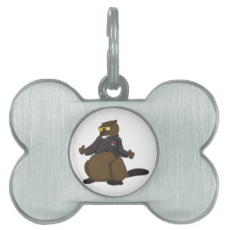 Canada 150 in 2017 Cool Beaver Merchandise Pet Tag