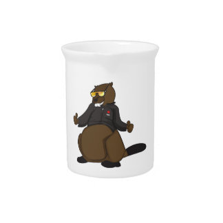 Canada 150 in 2017 Cool Beaver Merchandise Pitcher