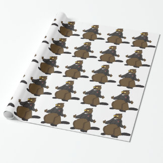 Canada 150 in 2017 Cool Beaver Merchandise Wrapping Paper
