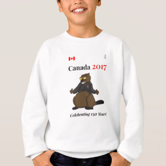Canada 150 in 2017 Cool Celebrating Sweatshirt
