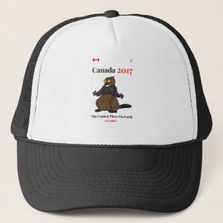 Canada 150 in 2017 Cool Earth Trucker Hat
