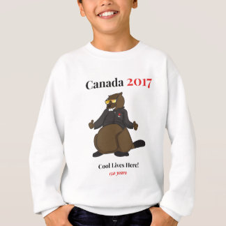 Canada 150 in 2017 Cool Lives Here Sweatshirt