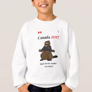 Canada 150 in 2017 Cool Rock On Sweatshirt