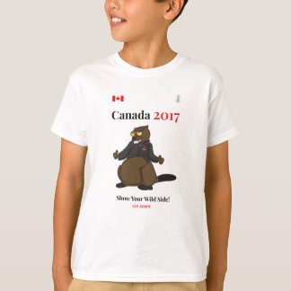 Canada 150 in 2017 Cool Wild Side T-Shirt