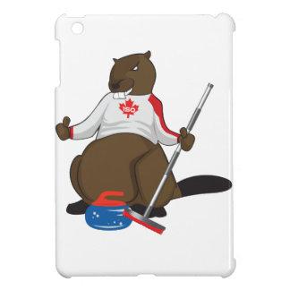 Canada 150 in 2017 Curling Beaver Merchandise iPad Mini Cases