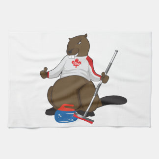 Canada 150 in 2017 Curling Beaver Merchandise Towels