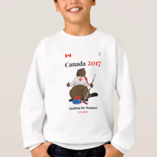 Canada 150 in 2017 Curling Hammer Sweatshirt