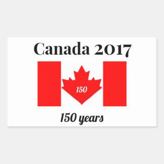 Canada 150 in 2017 Heart Flag