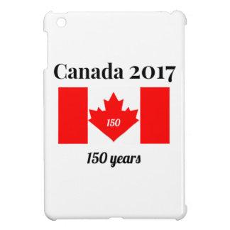 Canada 150 in 2017 Heart Flag iPad Mini Covers