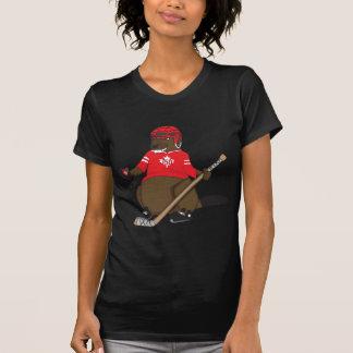 Canada 150 in 2017 Hockey Beaver T-Shirt