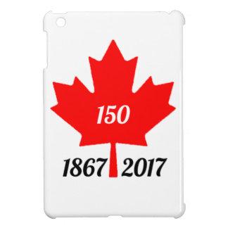 Canada 150 in 2017 maple leaf iPad mini case