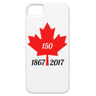 Canada 150 in 2017 maple leaf iPhone 5 case
