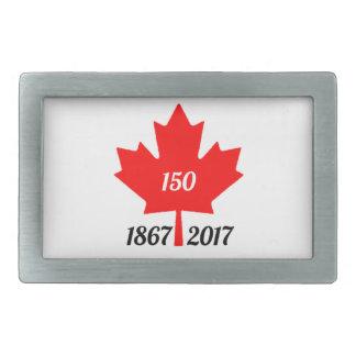 Canada 150 in 2017 maple leaf rectangular belt buckle