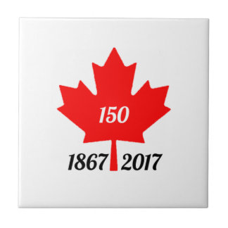 Canada 150 in 2017 maple leaf tile