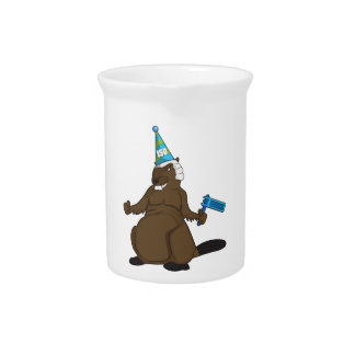 Canada 150 in 2017 Party Beaver Merchandise Beverage Pitchers