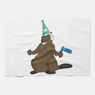 Canada 150 in 2017 Party Beaver Merchandise Hand Towels