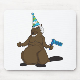 Canada 150 in 2017 Party Beaver Merchandise Mouse Pad