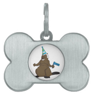 Canada 150 in 2017 Party Beaver Merchandise Pet Name Tag