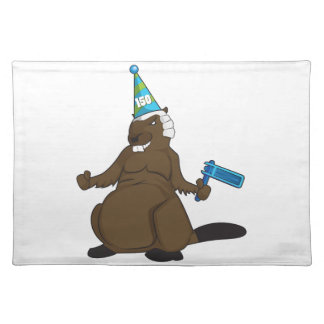 Canada 150 in 2017 Party Beaver Merchandise Placemat