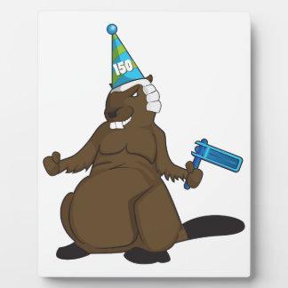 Canada 150 in 2017 Party Beaver Merchandise Plaque