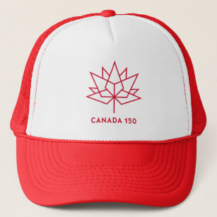 4b19c45e421 Canada 150 Logo Trucker Hat