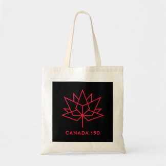 Canada 150 Official Logo - Black and Red