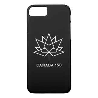 Canada 150 Official Logo - Black and White iPhone 8/7 Case