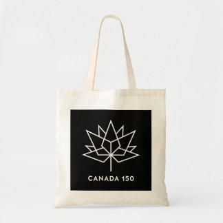 Canada 150 Official Logo - Black and White Tote Bag