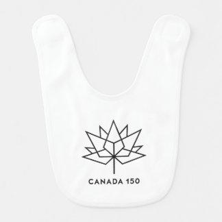 Canada 150 Official Logo - Black Outline Bib