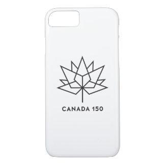 Canada 150 Official Logo - Black Outline iPhone 8/7 Case