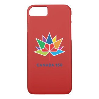 Canada 150 Official Logo - Multicolor and Red iPhone 8/7 Case