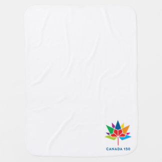 Canada 150 Official Logo - Multicolor Baby Blankets