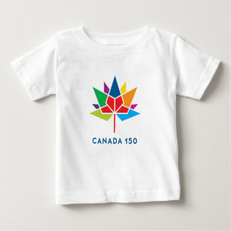 Canada 150 Official Logo - Multicolor Baby T-Shirt