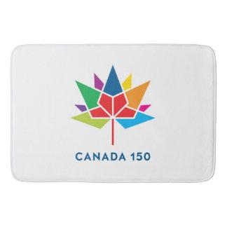 Canada 150 Official Logo - Multicolor Bathroom Mat