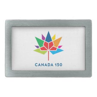 Canada 150 Official Logo - Multicolor Belt Buckle