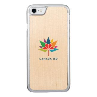 Canada 150 Official Logo - Multicolor Carved iPhone 8/7 Case
