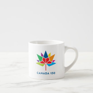 Canada 150 Official Logo - Multicolor Espresso Cup