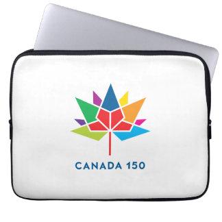 Canada 150 Official Logo - Multicolor Laptop Sleeve