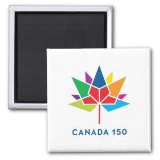 Canada 150 Official Logo - Multicolor Magnet