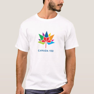 Canada 150 Official Logo - Multicolor T-Shirt