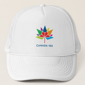 Canada 150 Official Logo - Multicolor Trucker Hat