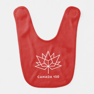 Canada 150 Official Logo - Red and White Bib