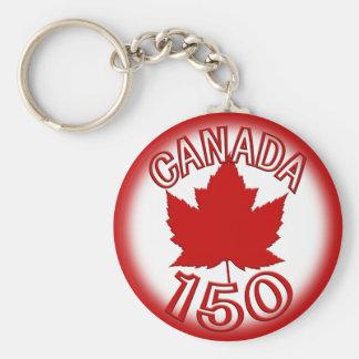 Canada 150 Souvenir Key Chain & Canada Maple Leaf