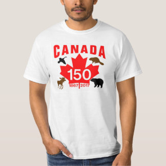 Canada 150 shirts canada 150 t shirts custom clothing for Personalized t shirts canada
