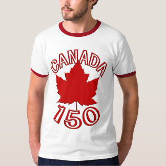 Canada 150 T-shirts Canada 150 Souvenir Shirts