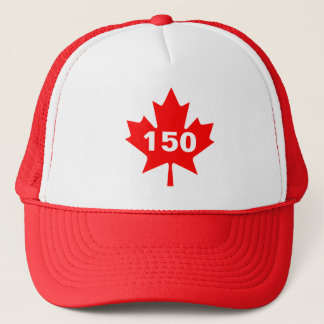 Canada 150 years anniversary one-of-a-kind trucker hat